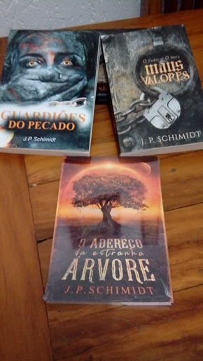 J. P. Schimidt, autor da fantasia Guardiões do Pecado
