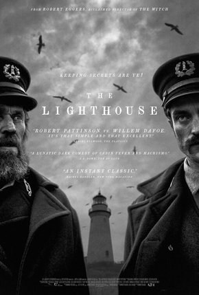 O Farol com Robert Pattinson e Willen Dafoe